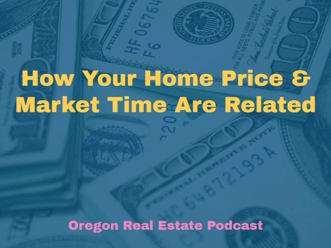 How Your Home Price and Market Time are Related